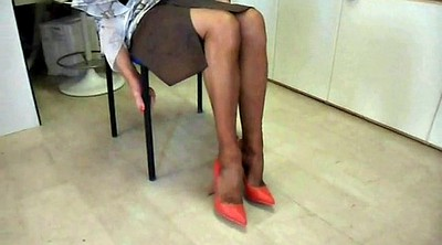 Shoe, Shoes, Sexy nylons, Nylon office