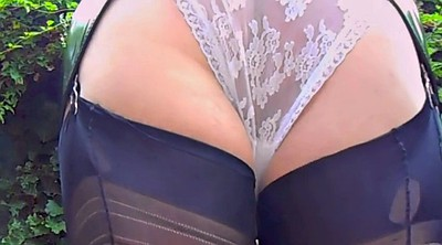 Stockings, Upskirt