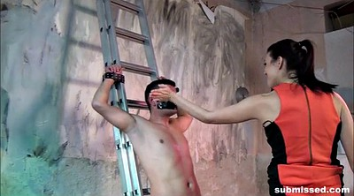 Femdom, Submissed handjob, Submissed