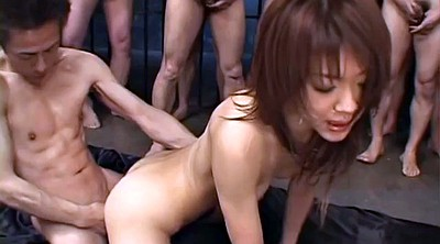 Bukkake, Japanese orgy, Japanese gangbang, Asian sex, Japanese bukkake, Japanese group