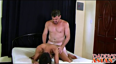 Asian old, Cute asian, Young pussy, Old dad