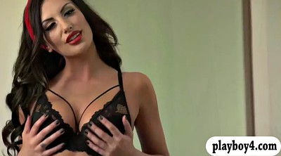 August ames, Busty brunette, August