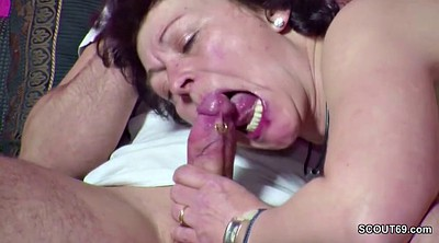 Boy, Step mom, Old and young, Mom boy, Mom and boy, Mom masturbation