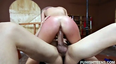 Gina, Girl spanked