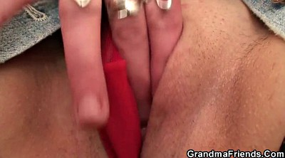 Granny masturbation, Masturbate, Mature masturbating, Granny threesome