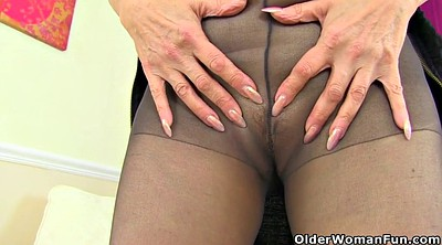 Nylon, Pantyhose fetish, Pantyhose fuck, English, Mature pantyhose, Mature nylon