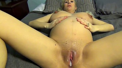 Big pregnant, Pregnant big, Pregnant blonde, Belly, Big belly, Pregnant creampie