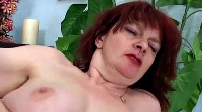 Hairy granny, Granny anal, Hairy redhead, Hairy anal milf
