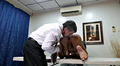 Casting, Asian feet, Old gay, Young boy, Asian boy, Daddies gay
