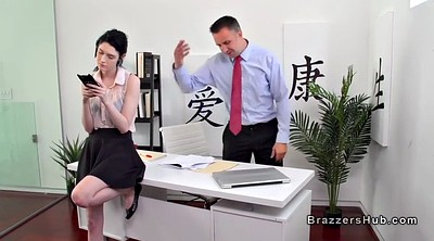 Office, Fucked, Office anal, Huge tits anal, Boss fuck