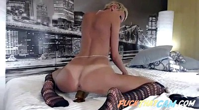 Riding dildo, Skinny webcam, Big solo