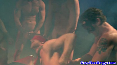 Gay orgy, Blindfold