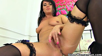 British mature, Leah, Knickers