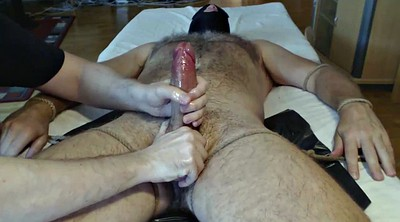 Hairy hd, Cock milking