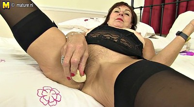 Mother, Mature anal, Anal mature, Toy, Mother anal, Buttplug