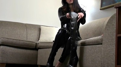 Boots, Catsuit, Knee
