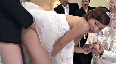 Wife fuck, Japanese wife, Bride, Wife creampie, Japanese creampie, Japanese cuckold