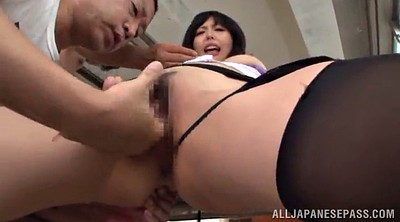 Asian pantyhose, Pantyhose handjob