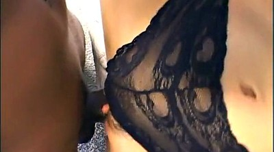 Interracial threesome, Double asian, Double anal asian
