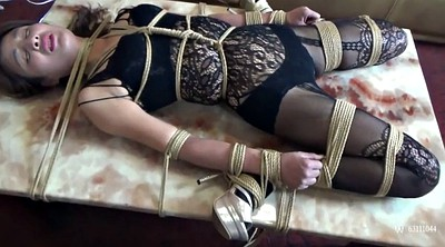 Scarf, Torture bdsm, Asian bondage