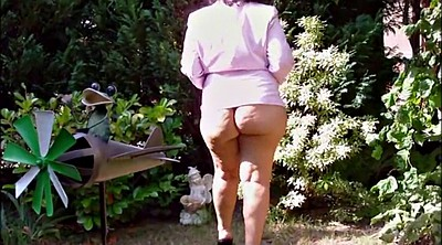 Mature outdoor, Mature german, German granny