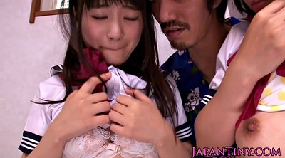 Japanese threesome, Japanese schoolgirl, Nippon, Japanese schoolgirls