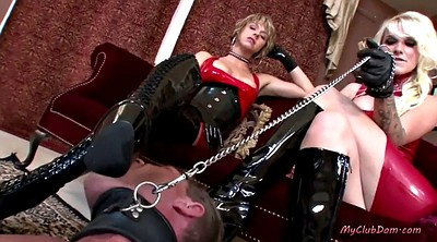 Foot worship, Feet femdom, Latex mistress