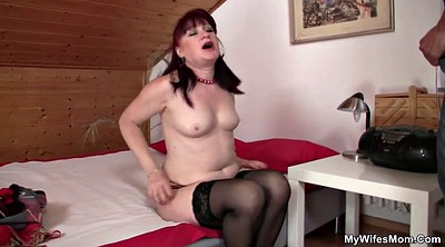 Stocking, Stocking mature, Stockings mom, Mom in