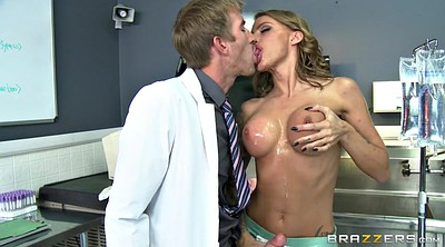 Nurse, Sloppy blowjob