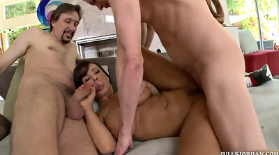 Double anal, Lisa ann, Group sex