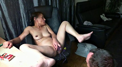 Asian solo, German dildo
