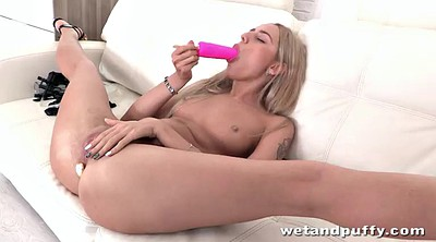Small tits solo, Blonde solo