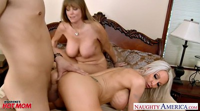 Emma, Mom threesome, Darla crane, Crane, Big tits mom, Threesome mom