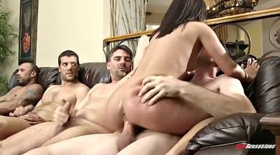 Double blowjob, First time anal, Group anal, Anal first time