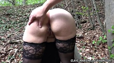 Punish, Mask, Outdoor creampie, Wife punished, Masked, Bdsm creampie