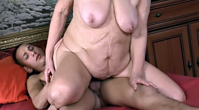Grandma, Grandmas, Mature blowjob, Ass eating