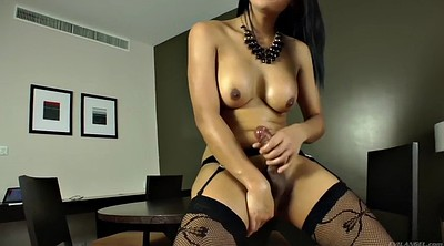 Thai, Tranny cumshot, Asian tranny, Tranny solo