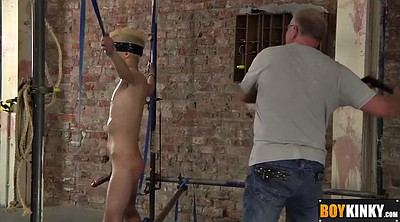 Blindfolded, Tied handjob