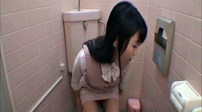 Japanese office, Restroom, Japanese masturbation