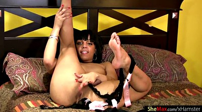 Ebony, Shemale big cock, Ebony shemale