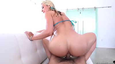 Double anal, Swallow, Anal toy, Sarah big butt