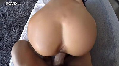 Hairy creampie, Riding