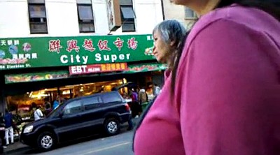 Chinese granny, Bus, Chinese milf, Asian granny, Chinese voyeur, Voyeur chinese