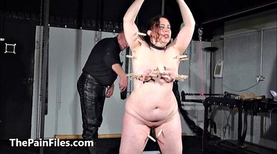 Extreme, Tit torture, Bondage bbw, Breast whipping, Whip tits, Tortured