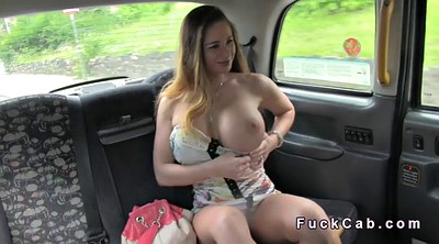 Huge, Car, British, London, Huge boobs