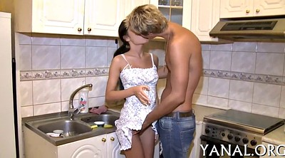 Russian anal, Russian teen, Deep insertion