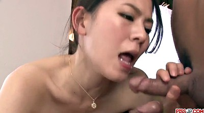 Japanese creampie, Japanese threesome