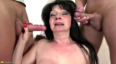 Mom boy, Grannies, Fuck mom, Young boy, Granny gangbang, Mom gangbang