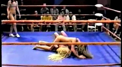 Wrestling, Sport, Fight, Topless, Ring