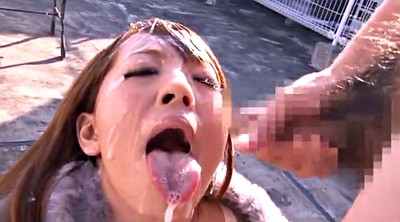 Bukkake, Asian big tits